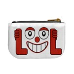 Laughing Out Loud Illustration002 Coin Change Purse Back