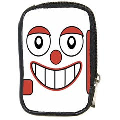 Laughing Out Loud Illustration002 Compact Camera Leather Case by dflcprints