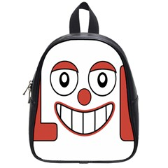 Laughing Out Loud Illustration002 School Bag (small) by dflcprints
