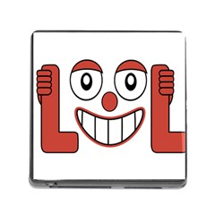 Laughing Out Loud Illustration002 Memory Card Reader With Storage (square) by dflcprints