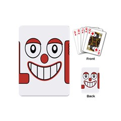 Laughing Out Loud Illustration002 Playing Cards (mini) by dflcprints