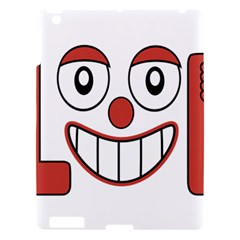 Laughing Out Loud Illustration002 Apple Ipad 3/4 Hardshell Case by dflcprints