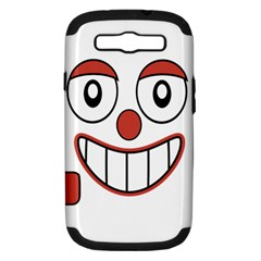 Laughing Out Loud Illustration002 Samsung Galaxy S Iii Hardshell Case (pc+silicone) by dflcprints