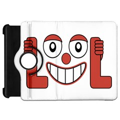 Laughing Out Loud Illustration002 Kindle Fire Hd Flip 360 Case by dflcprints