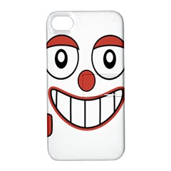Laughing Out Loud Illustration002 Apple Iphone 4/4s Hardshell Case With Stand by dflcprints