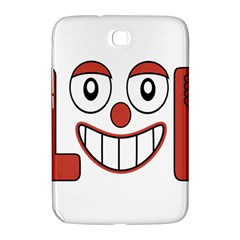 Laughing Out Loud Illustration002 Samsung Galaxy Note 8 0 N5100 Hardshell Case  by dflcprints
