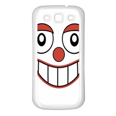 Laughing Out Loud Illustration002 Samsung Galaxy S3 Back Case (white) by dflcprints
