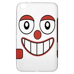 Laughing Out Loud Illustration002 Samsung Galaxy Tab 3 (8 ) T3100 Hardshell Case  by dflcprints