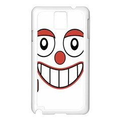 Laughing Out Loud Illustration002 Samsung Galaxy Note 3 N9005 Case (white) by dflcprints