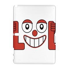 Laughing Out Loud Illustration002 Samsung Galaxy Note 10 1 (p600) Hardshell Case by dflcprints
