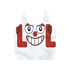 Laughing Out Loud Illustration002 Reusable Bag (s) by dflcprints