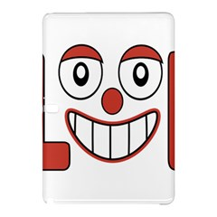Laughing Out Loud Illustration002 Samsung Galaxy Tab Pro 10 1 Hardshell Case by dflcprints