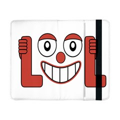 Laughing Out Loud Illustration002 Samsung Galaxy Tab Pro 8 4  Flip Case by dflcprints