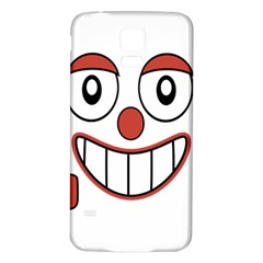 Laughing Out Loud Illustration002 Samsung Galaxy S5 Back Case (white) by dflcprints