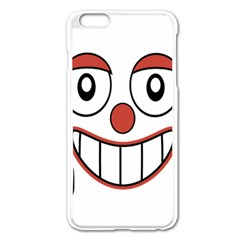 Laughing Out Loud Illustration002 Apple Iphone 6 Plus Enamel White Case by dflcprints