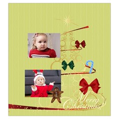 Xmas By Xmas   Drawstring Pouch (large)   Nu7xt0la4tfh   Www Artscow Com Front