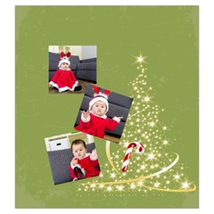 Xmas By Xmas   Drawstring Pouch (large)   Un6996va4v82   Www Artscow Com Back