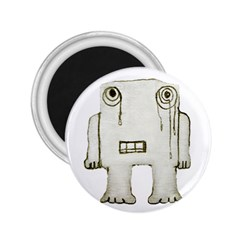 Sad Monster Baby 2 25  Button Magnet by dflcprints