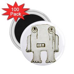 Sad Monster Baby 2 25  Button Magnet (100 Pack) by dflcprints