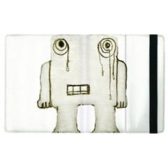 Sad Monster Baby Apple Ipad 3/4 Flip Case by dflcprints