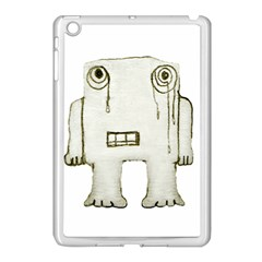 Sad Monster Baby Apple Ipad Mini Case (white) by dflcprints