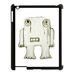 Sad Monster Baby Apple Ipad 3/4 Case (black) by dflcprints