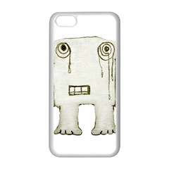 Sad Monster Baby Apple Iphone 5c Seamless Case (white) by dflcprints