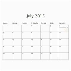Eddies 2015 Calendar By Katy   Wall Calendar 11  X 8 5  (12 Months)   Lo7u50uwrn1k   Www Artscow Com Jul 2015