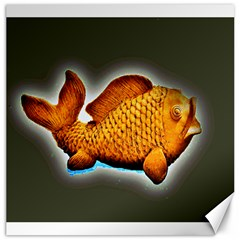 Goldfish Canvas 16  X 16  (unframed) by sirhowardlee