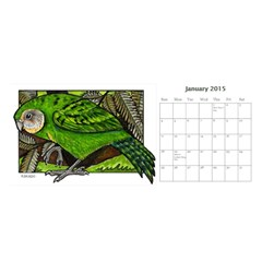 Animal A Month Calendar By Angela   Desktop Calendar 11  X 5    Tp13fyxwnpbl   Www Artscow Com Jan 2015