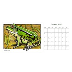 Animal A Month Calendar By Angela   Desktop Calendar 11  X 5    Tp13fyxwnpbl   Www Artscow Com Oct 2015