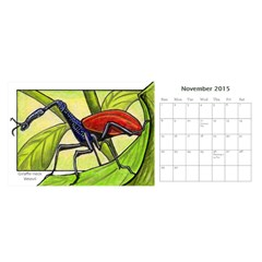 Animal A Month Calendar By Angela   Desktop Calendar 11  X 5    Tp13fyxwnpbl   Www Artscow Com Nov 2015