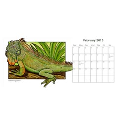 Animal A Month Calendar By Angela   Desktop Calendar 11  X 5    Tp13fyxwnpbl   Www Artscow Com Feb 2015