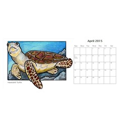 Animal A Month Calendar By Angela   Desktop Calendar 11  X 5    Tp13fyxwnpbl   Www Artscow Com Apr 2015