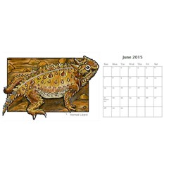 Animal A Month Calendar By Angela   Desktop Calendar 11  X 5    Tp13fyxwnpbl   Www Artscow Com Jun 2015