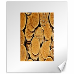 Plenty Of Pennies Canvas 20  X 24  (unframed) by sirhowardlee