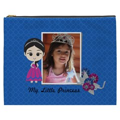 Cosmetic Bag (xxxl): My Little Princess By Jennyl   Cosmetic Bag (xxxl)   L9m6l9yxjxn7   Www Artscow Com Front