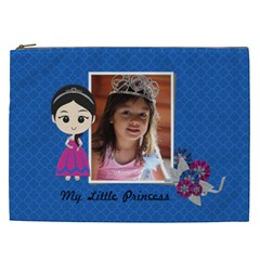 Cosmetic Bag (xxl): My Little Princess By Jennyl   Cosmetic Bag (xxl)   4ano1dkvye8d   Www Artscow Com Front