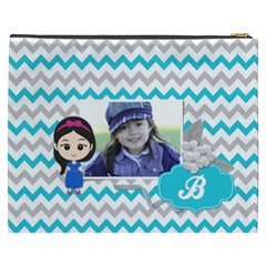 Cosmetic Bag (xxxl): Little Girl By Jennyl   Cosmetic Bag (xxxl)   9qdz26xrmmdo   Www Artscow Com Back