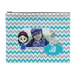 Cosmetic Bag (XL):  Little Girl