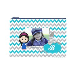 Cosmetic Bag (l): Little Girl By Jennyl   Cosmetic Bag (large)   I9ik8ets2h17   Www Artscow Com Front