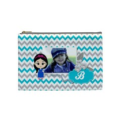 Cosmetic Bag (m): Little Girl By Jennyl   Cosmetic Bag (medium)   9nun1u1a9cpq   Www Artscow Com Front