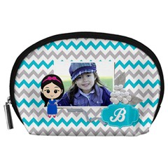 Pouch (l) : Little Girl By Jennyl   Accessory Pouch (large)   Efl7ky0yvw5e   Www Artscow Com Front