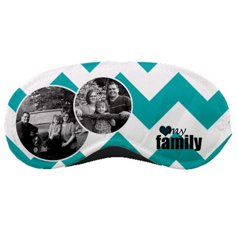 Love My Family Mask By Amanda Bunn   Sleeping Mask   Q9zib8iz3hoq   Www Artscow Com Front