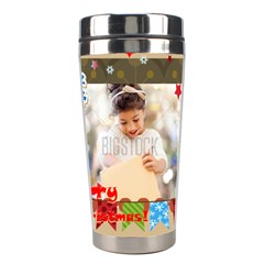 Xmas By Xmas4   Stainless Steel Travel Tumbler   9a0he9ik49pr   Www Artscow Com Center