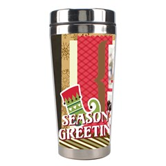 Xmas By Xmas4   Stainless Steel Travel Tumbler   97kbyw2tee46   Www Artscow Com Left