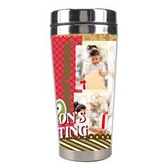 Xmas By Xmas4   Stainless Steel Travel Tumbler   97kbyw2tee46   Www Artscow Com Center