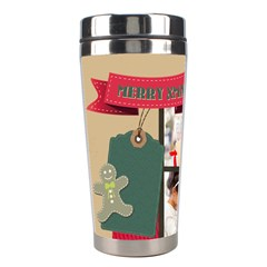 Xmas By Xmas4   Stainless Steel Travel Tumbler   Tk944mt7eqdk   Www Artscow Com Left