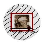 Zebra Ornament - Ornament (Round)