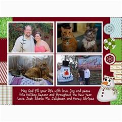 Xmas Card 14 By Starla Smith   5  X 7  Photo Cards   Xfe0d04278de   Www Artscow Com 7 x5 Photo Card - 9